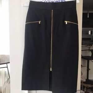 Banana Republic Fitted High-waisted Skirt, sz 2